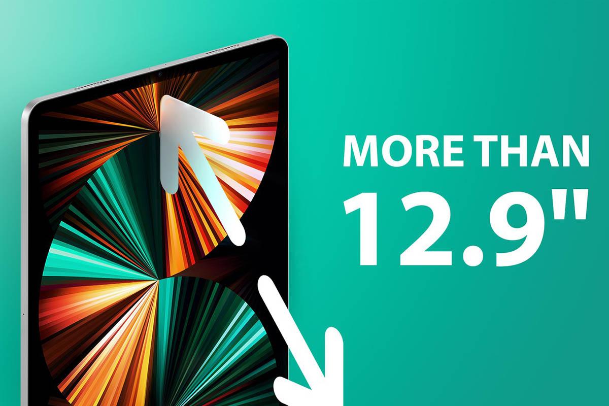 Velký iPad Pro má být opravdu velký. 12,9 palců už nestačí