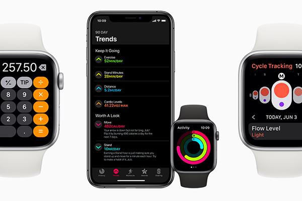 watchOS 6 aktualizace přináší spoustu nových funkcí, koukněte na přehled