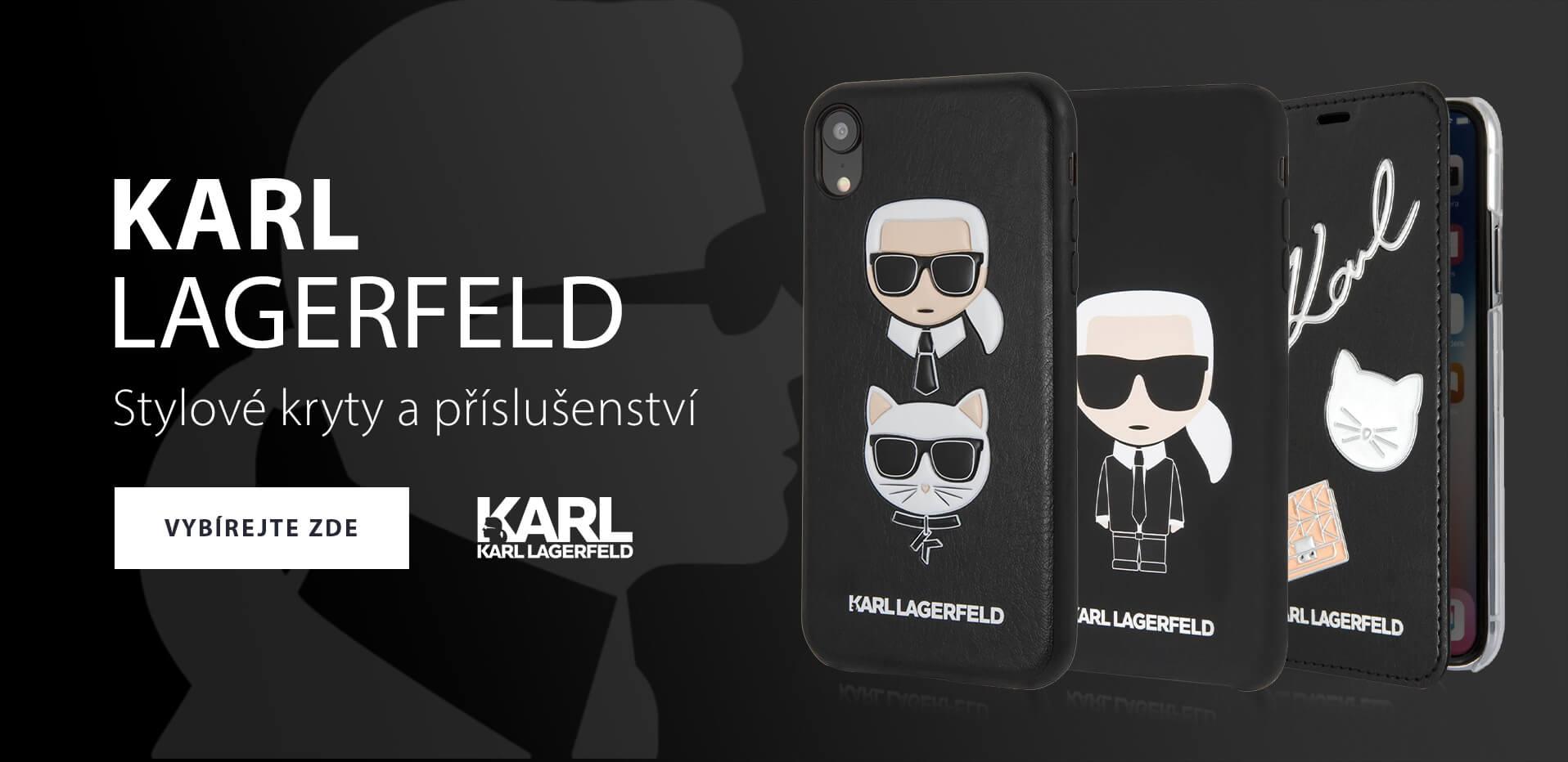 Pouzdra na iPhone Karl Lagerfeld