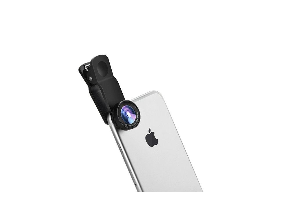 Objektiv pro iPhone - Hoco, PH6 Owl (Wide-angle and Macro lens)
