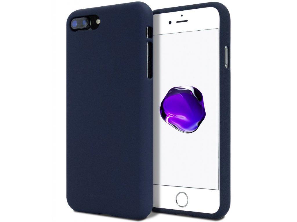 Ochranný kryt pro Apple iPhone 5 / 5S / SE - Mercury, Soft Feeling Midnight Blue