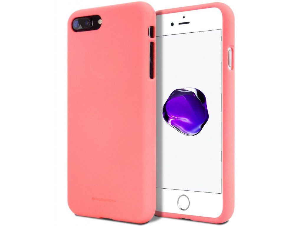Ochranný kryt pro Apple iPhone 5 / 5S / SE - Mercury, Soft Feeling Pink