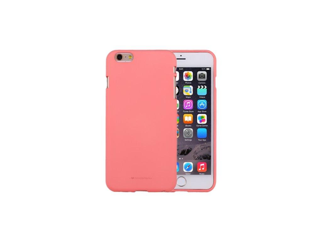 Ochranný kryt pro iPhone 6 / 6S - Mercury, Soft Feeling Pink