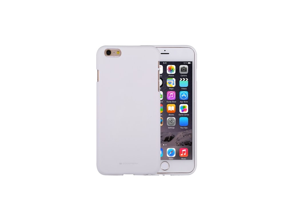 Ochranný kryt pro iPhone 6 PLUS / 6S PLUS - Mercury, Soft Feeling White