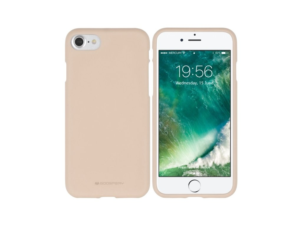 Ochranný kryt pro iPhone 6 PLUS / 6S PLUS - Mercury, Soft Feeling Pink Sand