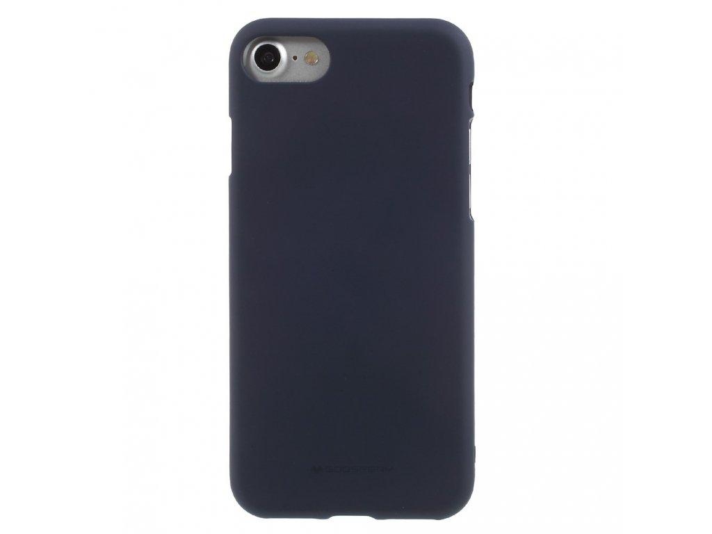 Ochranný kryt pro iPhone 7 / 8 - Mercury, Soft Feeling Midnight Blue