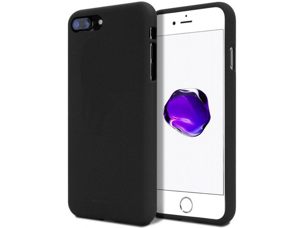 Ochranný kryt pro iPhone 7 PLUS / 8 PLUS - Mercury, Soft Feeling Black