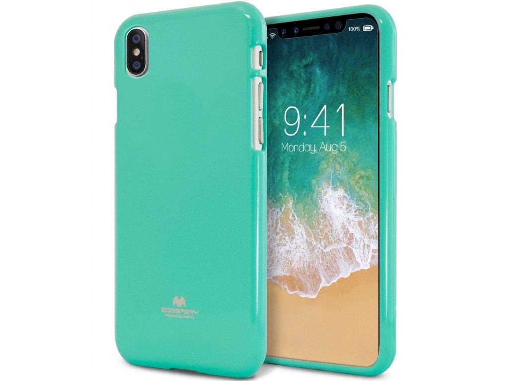 Ochranný kryt pro iPhone XS / X - Mercury, Jelly Case Mint