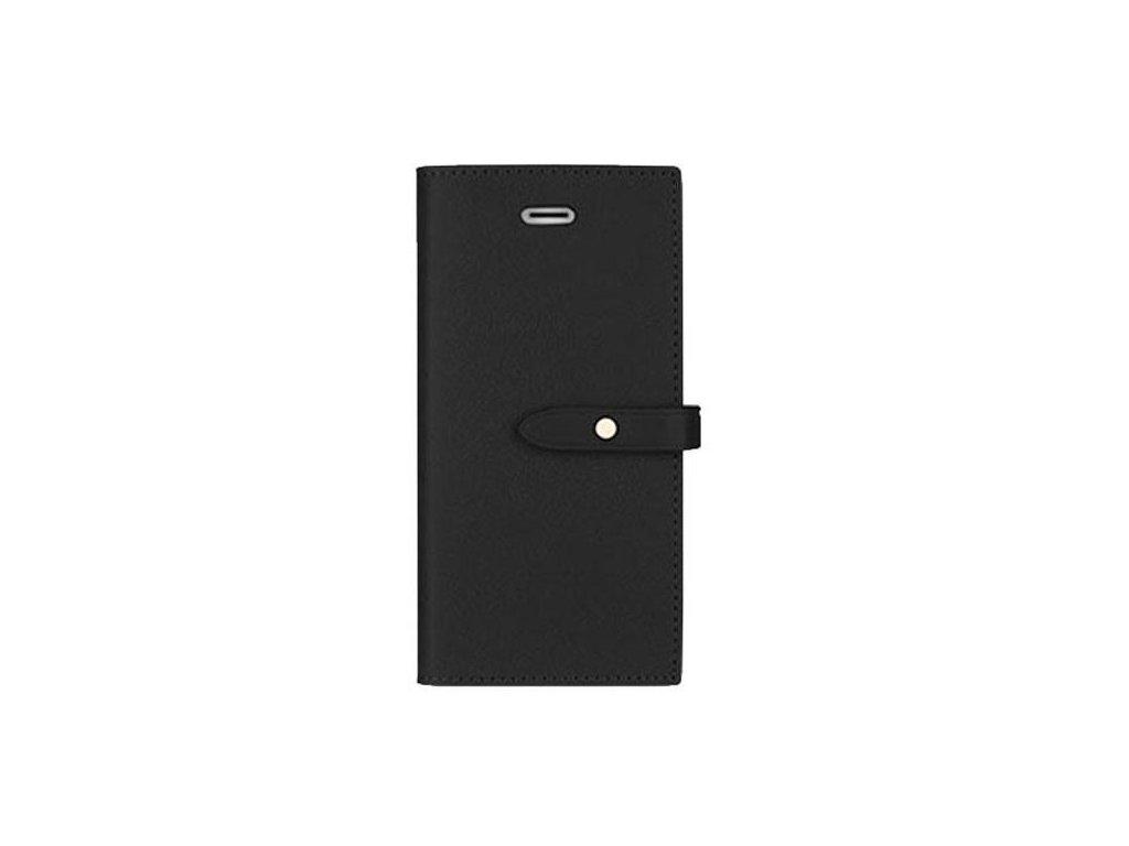 Pouzdro / kryt pro iPhone 5 / 5S / SE - Mercury, Romance Diary BLACK/BLACK