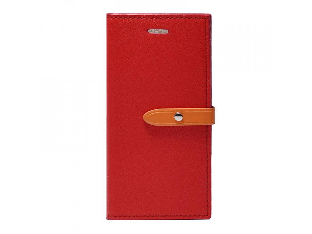 Pouzdro / kryt pro iPhone 6 / 6S - Mercury, Romance Diary RED/ORANGE
