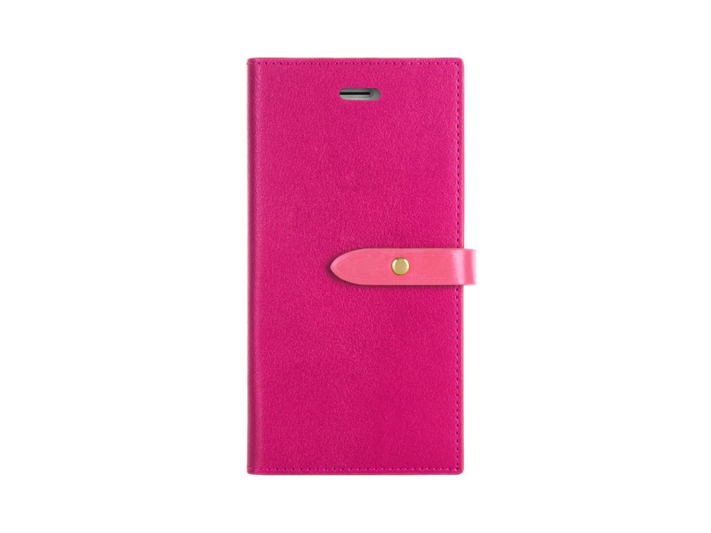 Pouzdro / kryt pro iPhone 6 / 6S - Mercury, Romance Diary HOTPINK/PINK