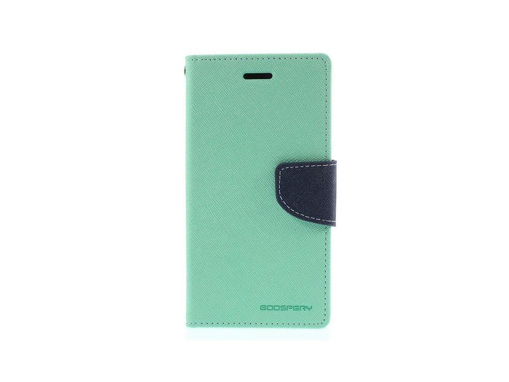 Pouzdro / kryt pro Samsung GALAXY J5 (2017) J530 - Mercury, Fancy Diary MINT/NAVY