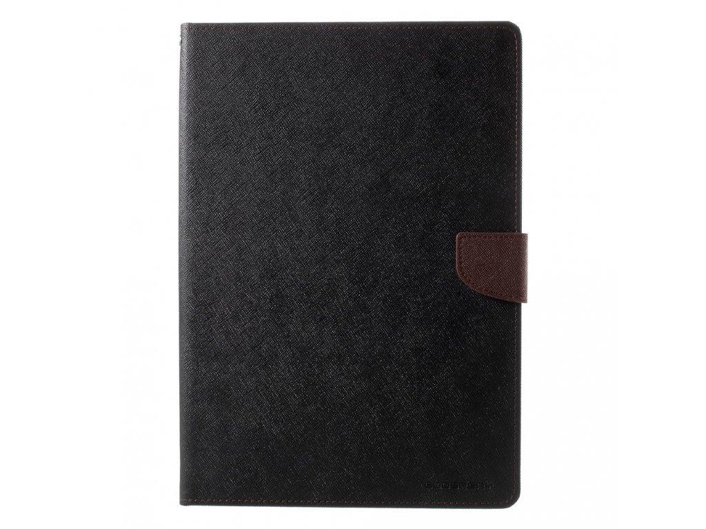 Pouzdro / kryt pro iPad 2017 / 2018 - Mercury, Fancy Diary BLACK/BROWN