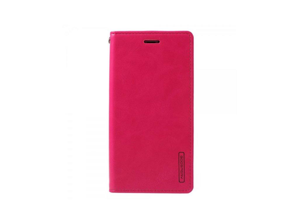 Pouzdro / kryt pro iPhone XS / X - Mercury, Bluemoon Flip HOTPINK