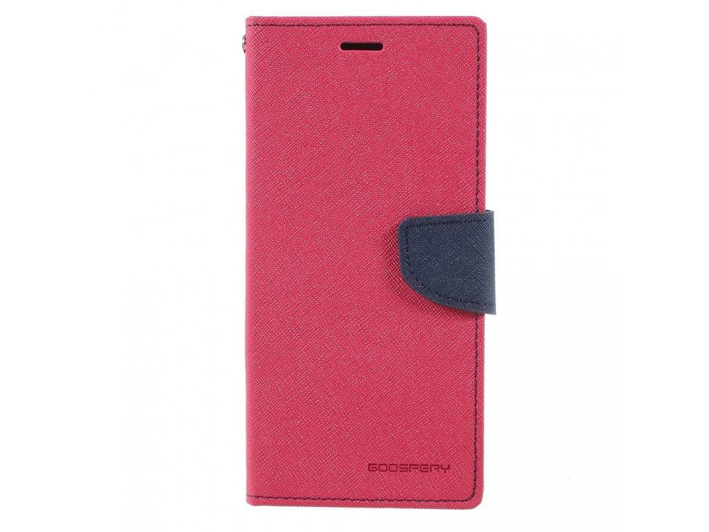 Pouzdro / kryt pro Samsung Galaxy Note 8 - Mercury, Fancy Diary HOTPINK/NAVY