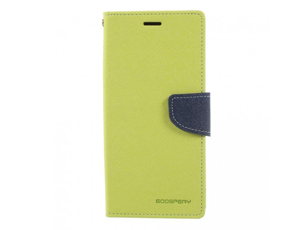 Pouzdro / kryt pro Samsung Galaxy Note 8 - Mercury, Fancy Diary LIME/NAVY