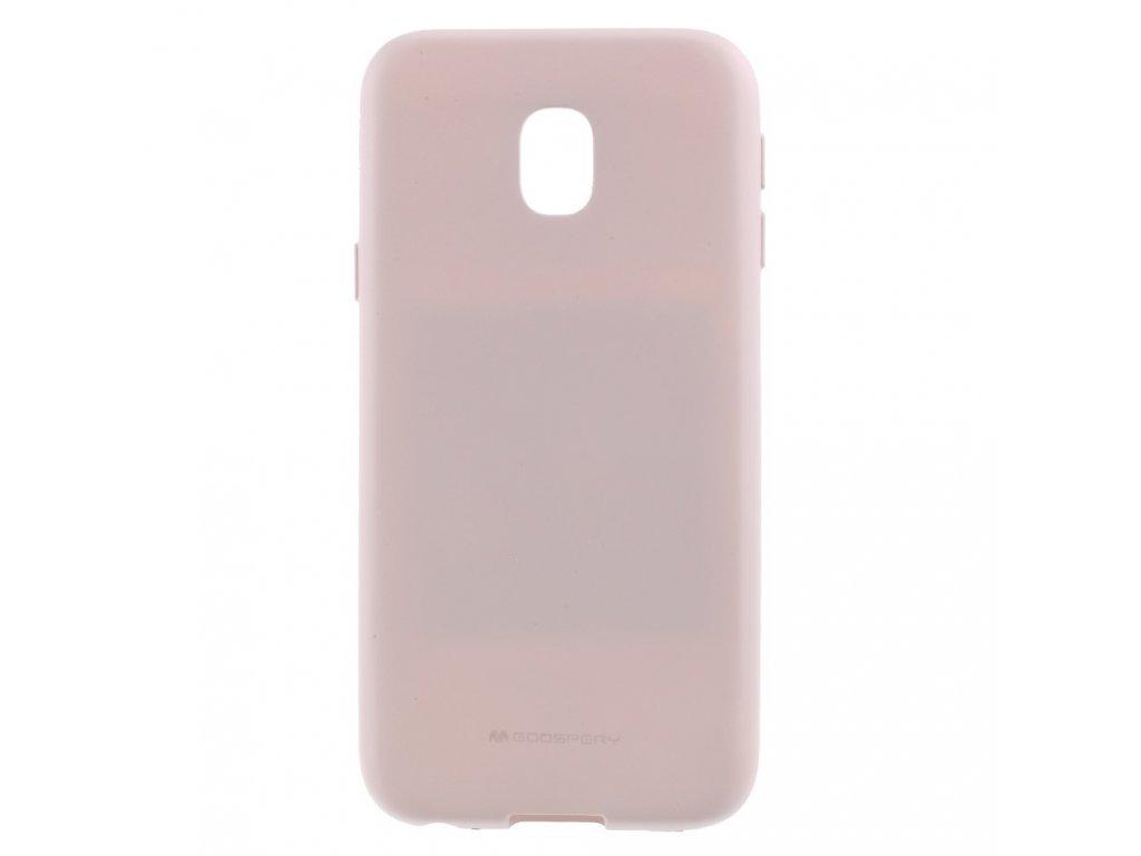 Pouzdro / kryt pro Samsung GALAXY J3 (2017) J330 - Mercury, Soft Feeling Pink Sand