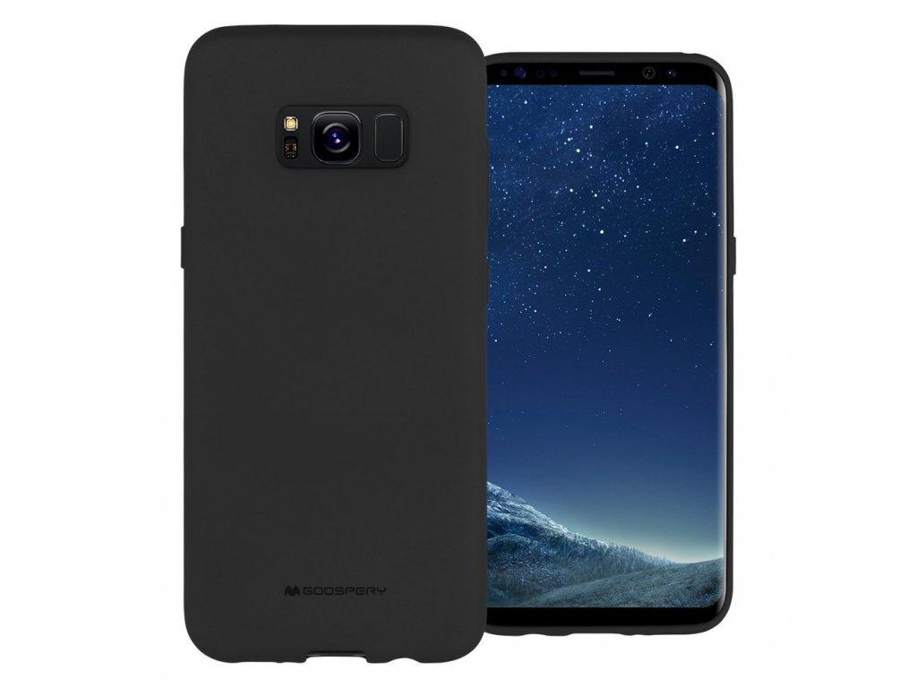 Pouzdro / kryt pro Samsung Galaxy S8 - Mercury, Soft Feeling Black