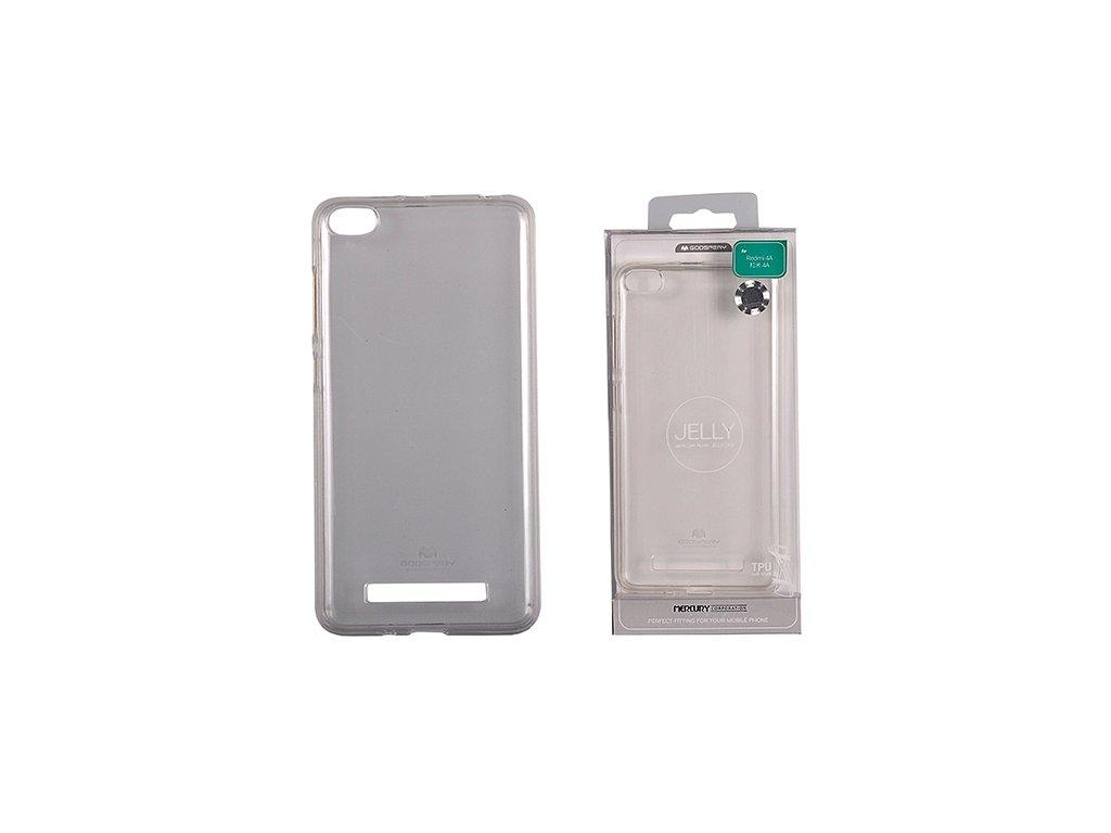 Pouzdro / kryt pro Xiaomi Redmi 4A - Mercury, Jelly Transparent