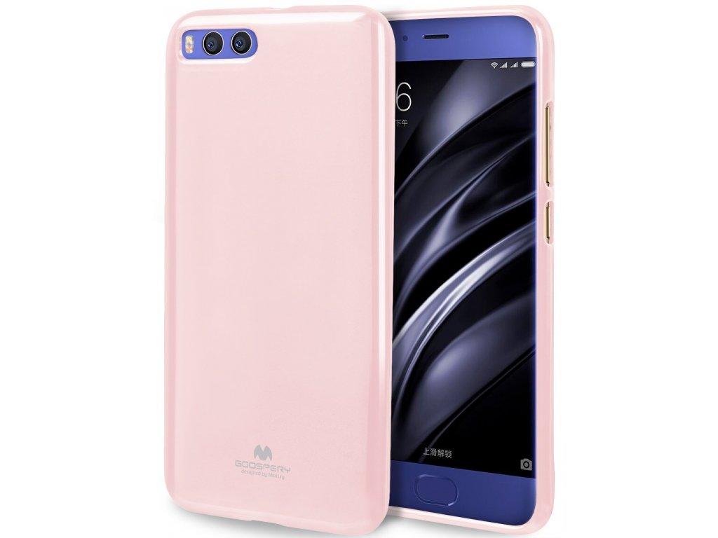 Pouzdro / kryt pro Xiaomi Mi6 - Mercury, Jelly Pink