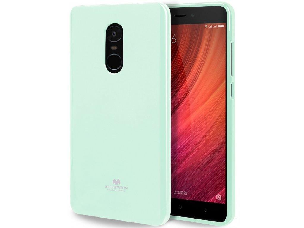 Pouzdro / kryt pro Xiaomi Redmi Note 4 - Mercury, Jelly Mint