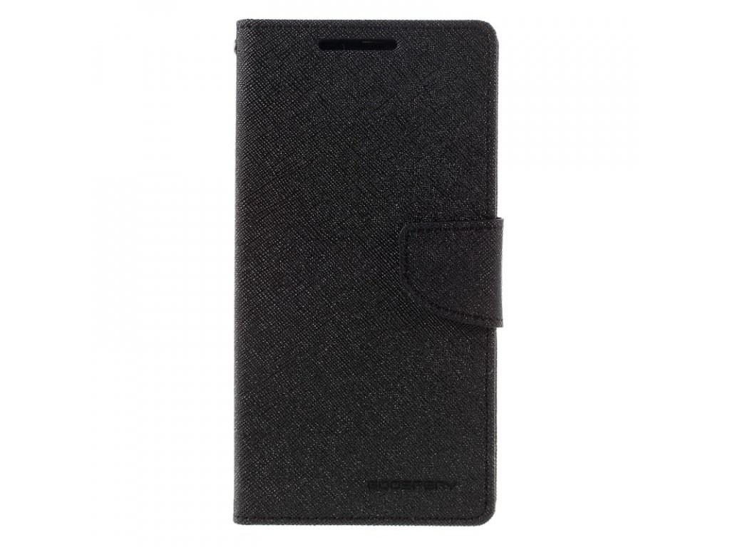 Pouzdro / kryt pro Huawei P8 LITE / P9 LITE (2017) - Mercury, Fancy Diary Black/Black