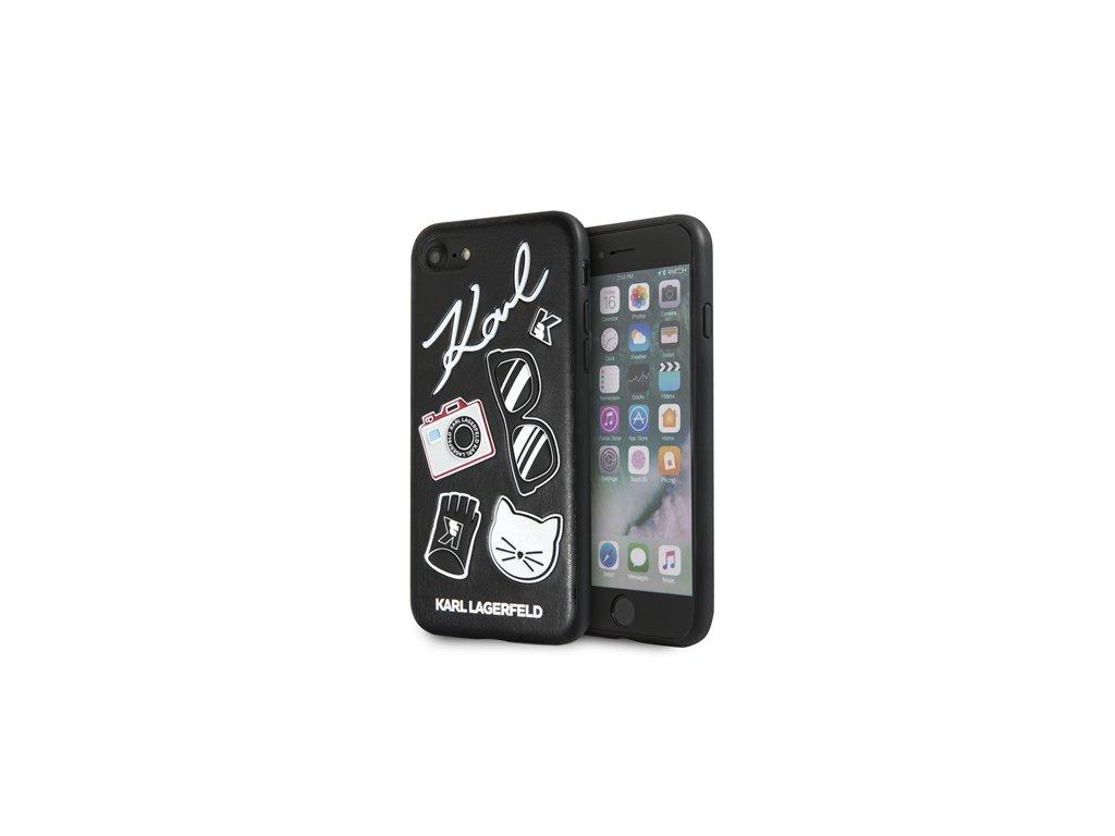Ochranný kryt pro iPhone 8 / 7 / 6s / 6 / SE (2020) - Karl Lagerfeld, Pins Back