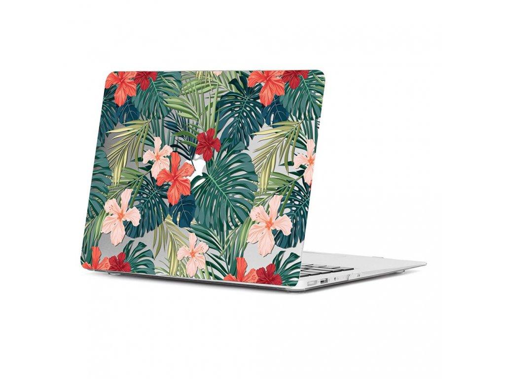 Polykarbonátové pouzdro / kryt na MacBook Air 13 (2010-2017) - TECH-PROTECT SMARTSHELL, TROPICAL PLANTS