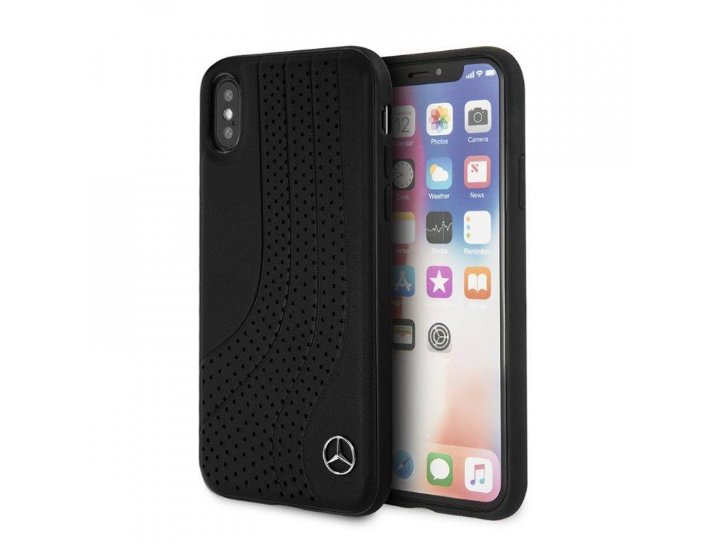 Ochranný kryt pro iPhone XS / X - Mercedes, Bow Back Black