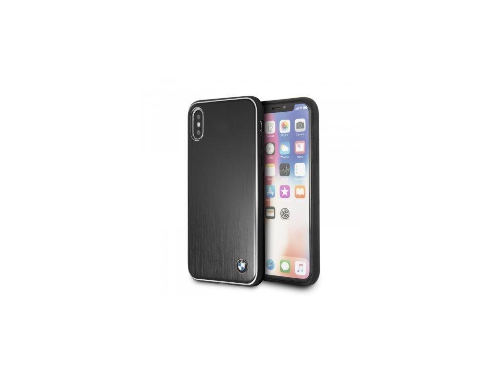 Ochranný kryt pro iPhone X - BMW, Brushed Aluminium Black