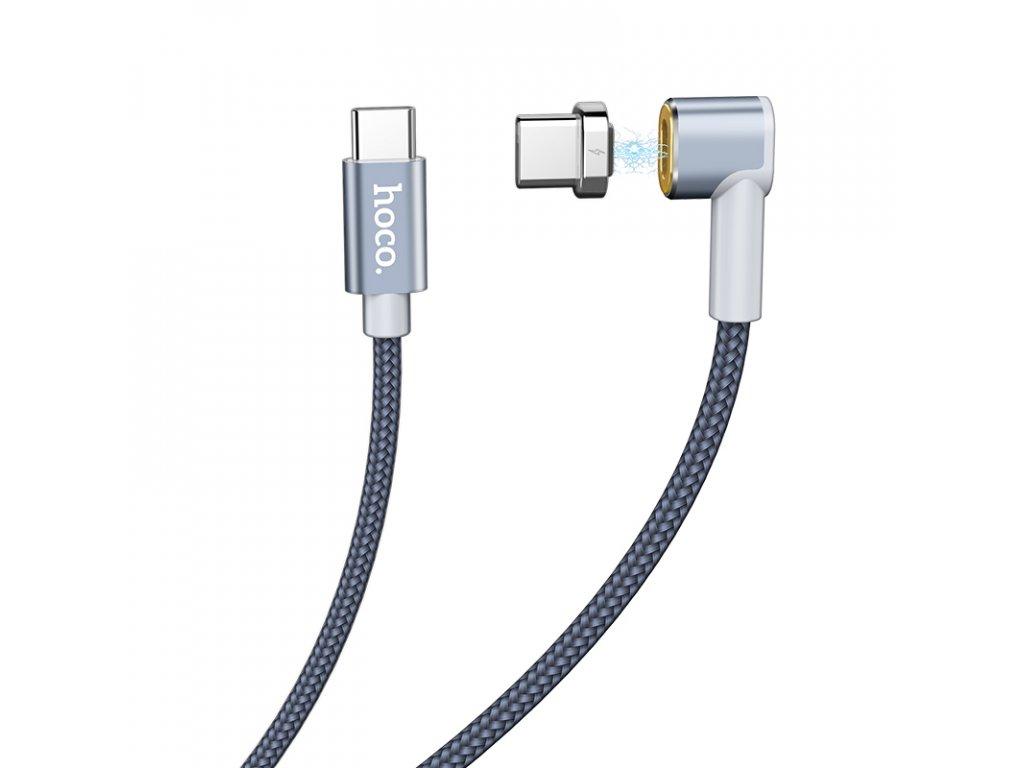 Kabel USB-C to USB-C - Hoco, U40C Magnetic 87W