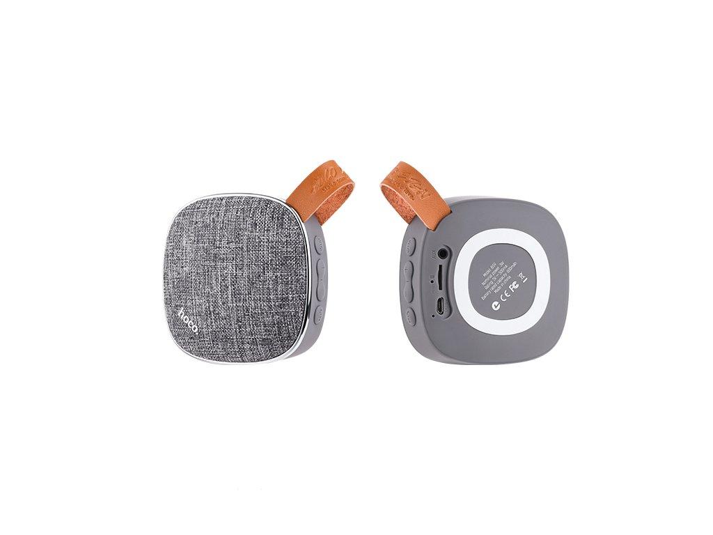 Bluetooth reproduktor pro iPhone a iPad - Hoco, BS9 LightTextile