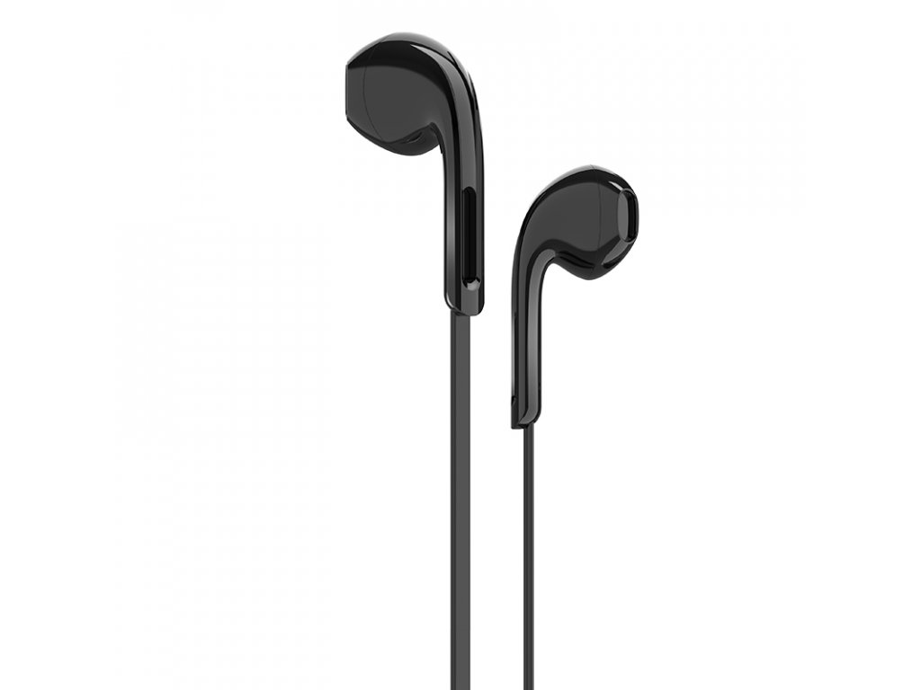 Sluchátka pro iPhone a iPad - HOCO, M39 Rhyme Black