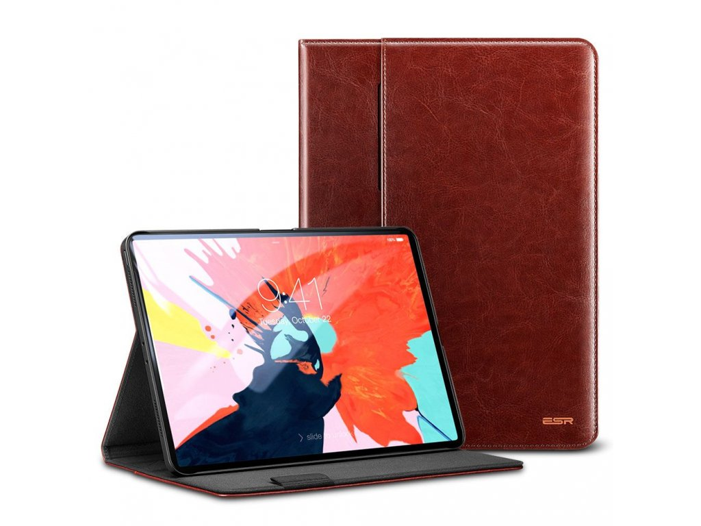 Pouzdro / kryt pro iPad Pro 11 - ESR, INTELLIGENT BROWN