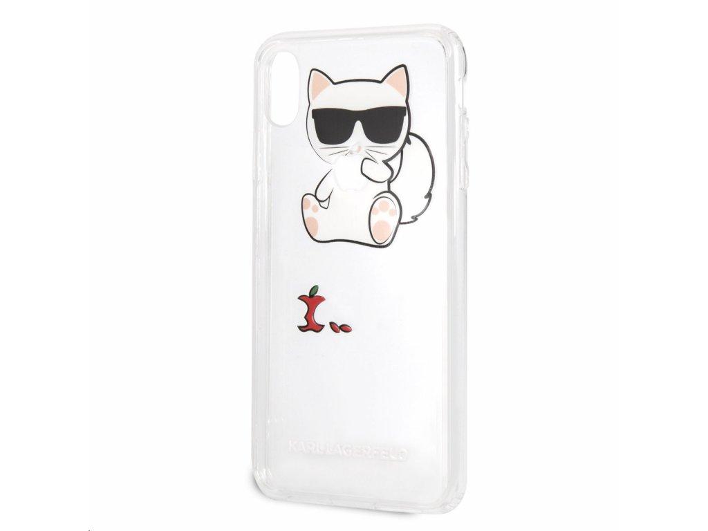 Ochranný kryt pro iPhone XS MAX - Karl Lagerfeld 1e6d662c232