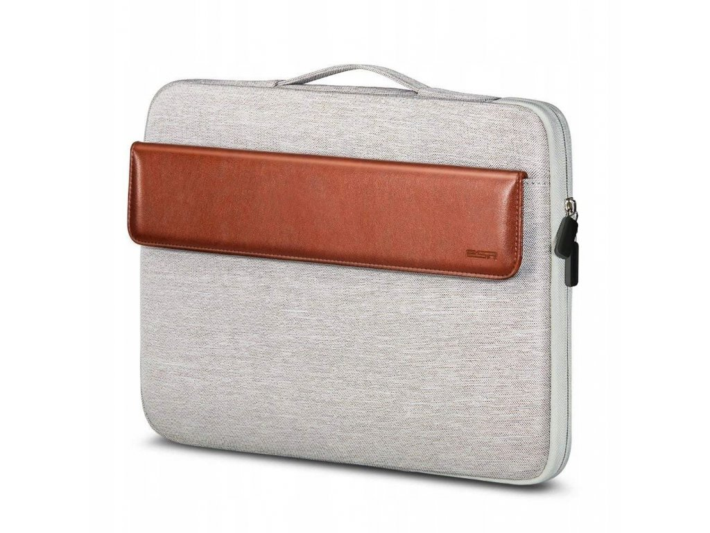 Brašna pro MacBook Air / Pro 13 - ESR, SLEEVE BROWN