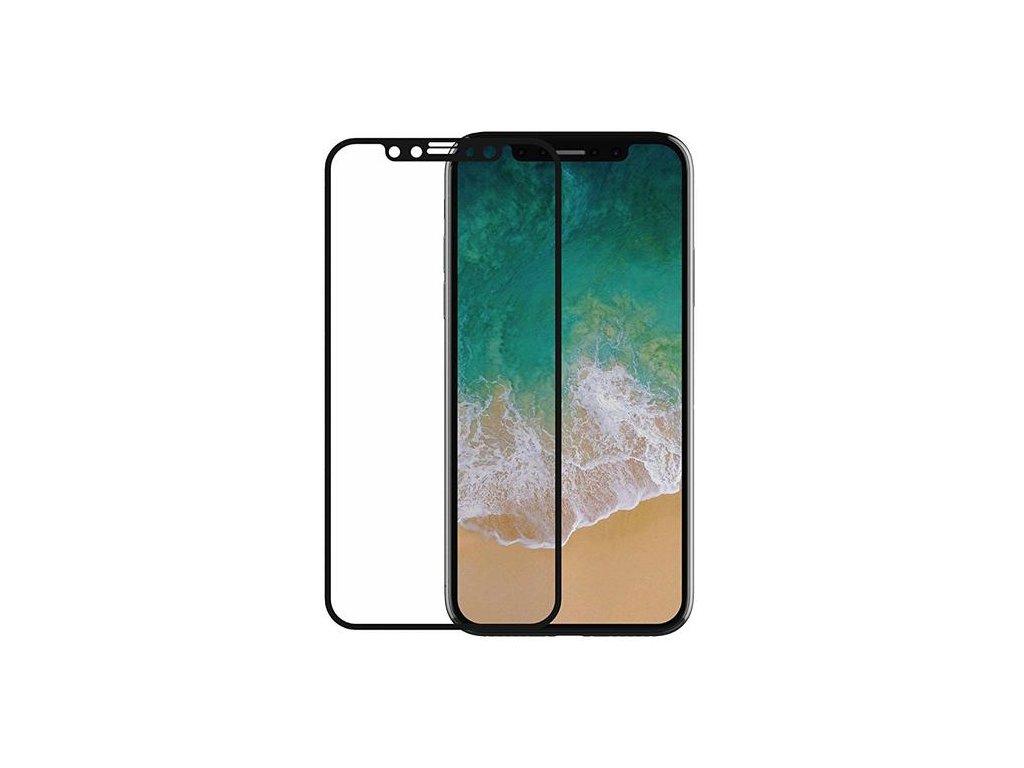 Ochranné tvrzené sklo pro iPhone X / XS / 11 Pro - Devia, Real 3D Black
