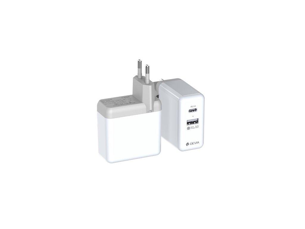 Sít'ový adaptér - Devia, Extreme Speed PD+QC 36W