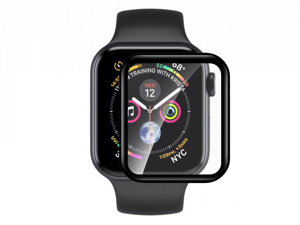 Tvrzené sklo pro Apple Watch 44mm - Devia, Tempered Glass