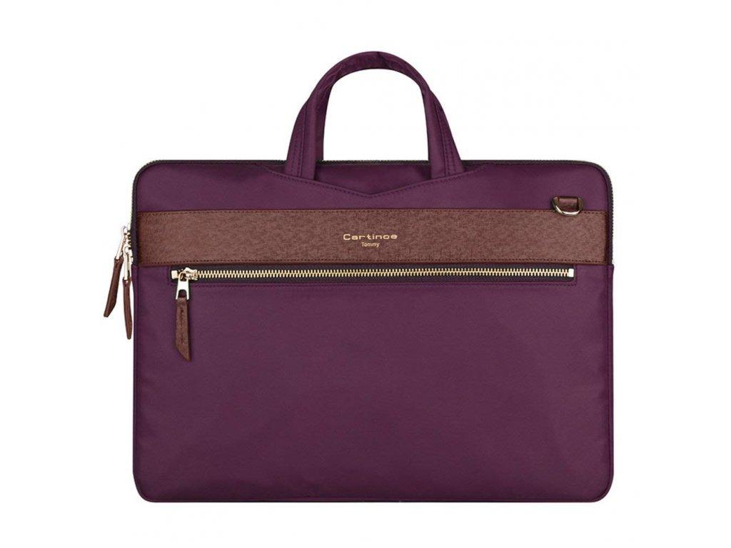 Taška pro MacBook Air / Pro 13 - CARTINOE, TOMMY PURPLE