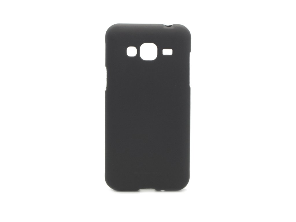 Pouzdro / kryt pro Samsung GALAXY J3 (2016) J3109 - Mercury, Soft Feeling Black