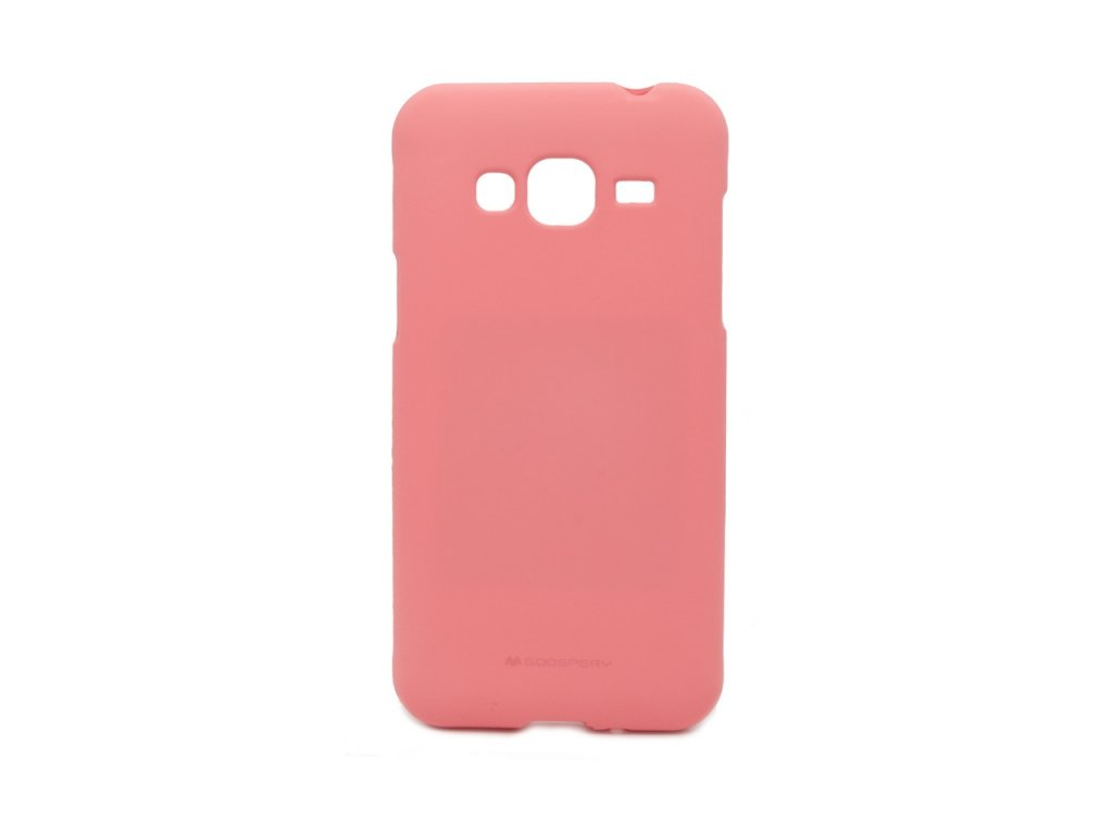 Pouzdro / kryt pro Samsung GALAXY J3 (2016) J3109 - Mercury, Soft Feeling Pink