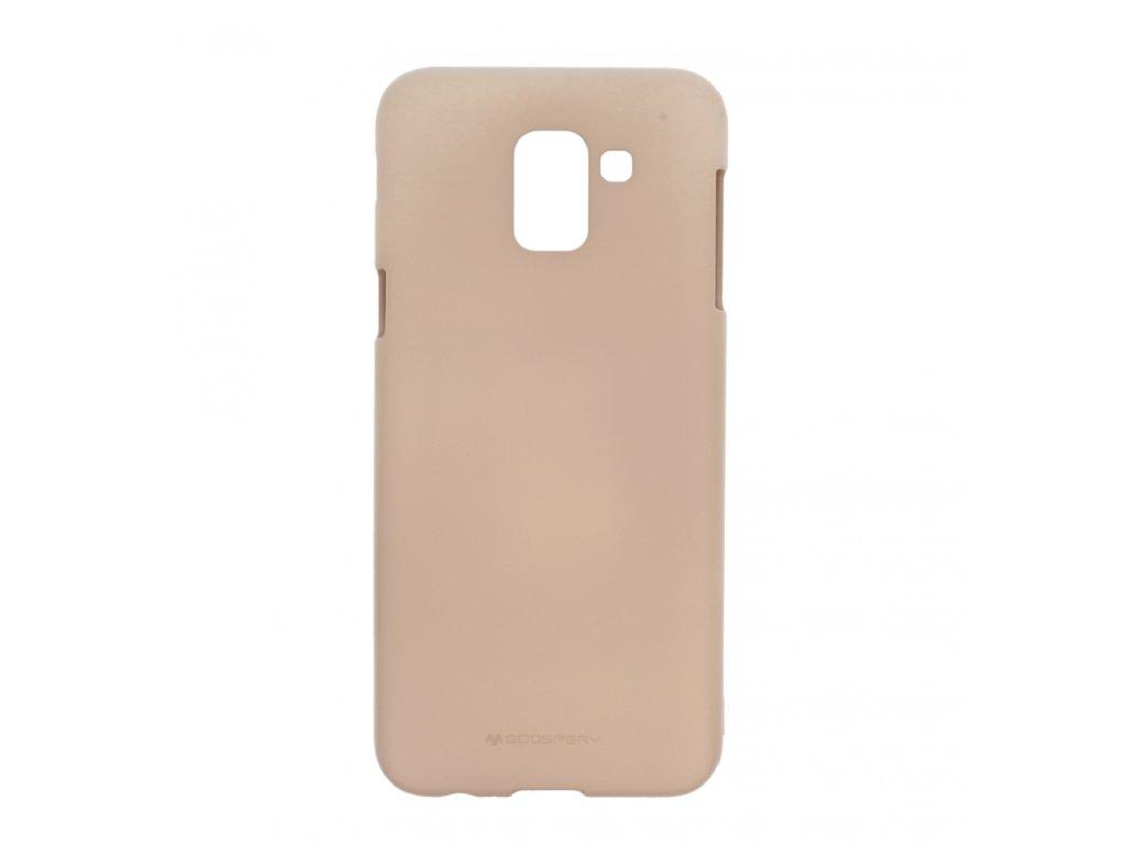 Pouzdro / kryt pro Samsung GALAXY J6 PLUS (2018) J610F - Mercury, Soft Feeling Pink Sand