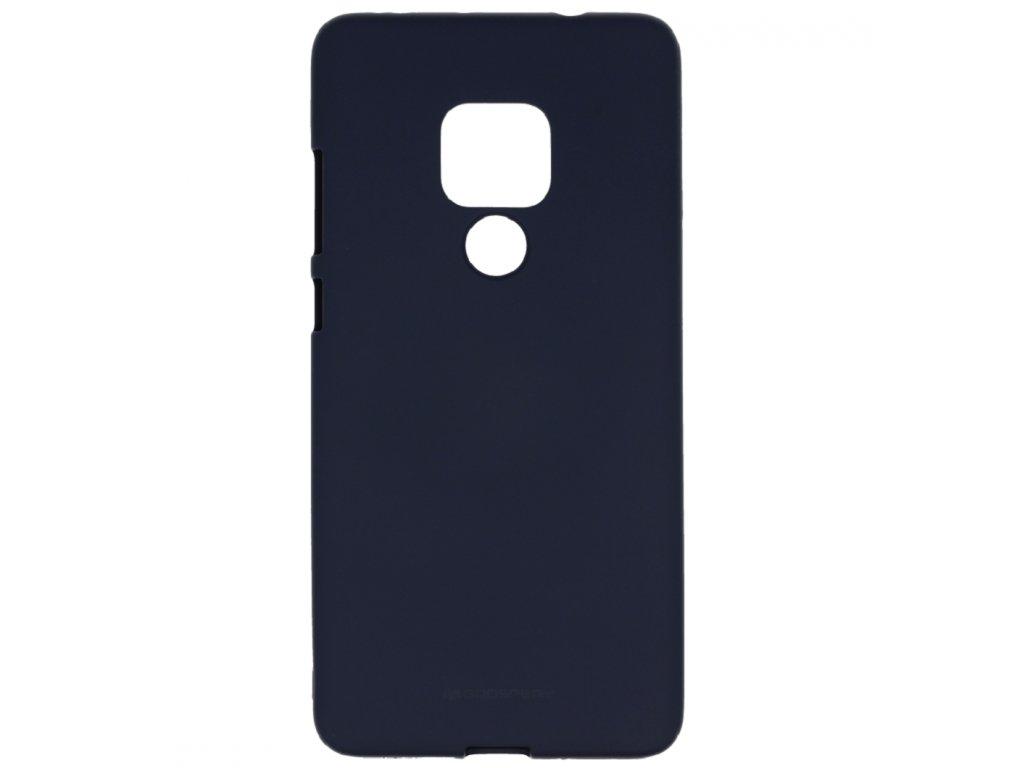 Pouzdro / kryt pro Huawei Mate 20 - Mercury, Soft Feeling Midnight Blue