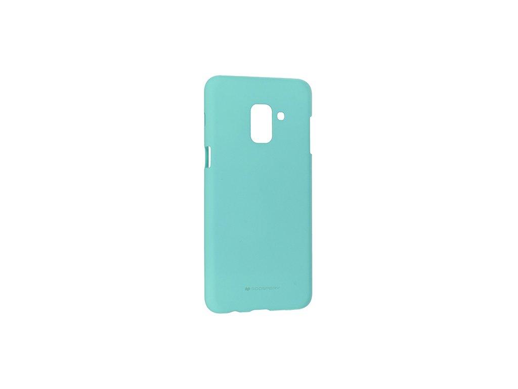 Pouzdro / kryt pro Samsung GALAXY A6 (2018) A600F - Mercury, Soft Feeling Mint