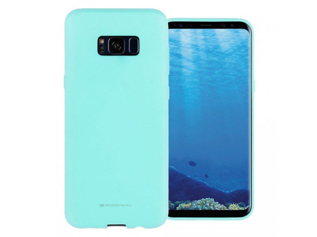 Ochranný kryt pro Samsung Galaxy S8 PLUS - Mercury, Soft Feeling Mint