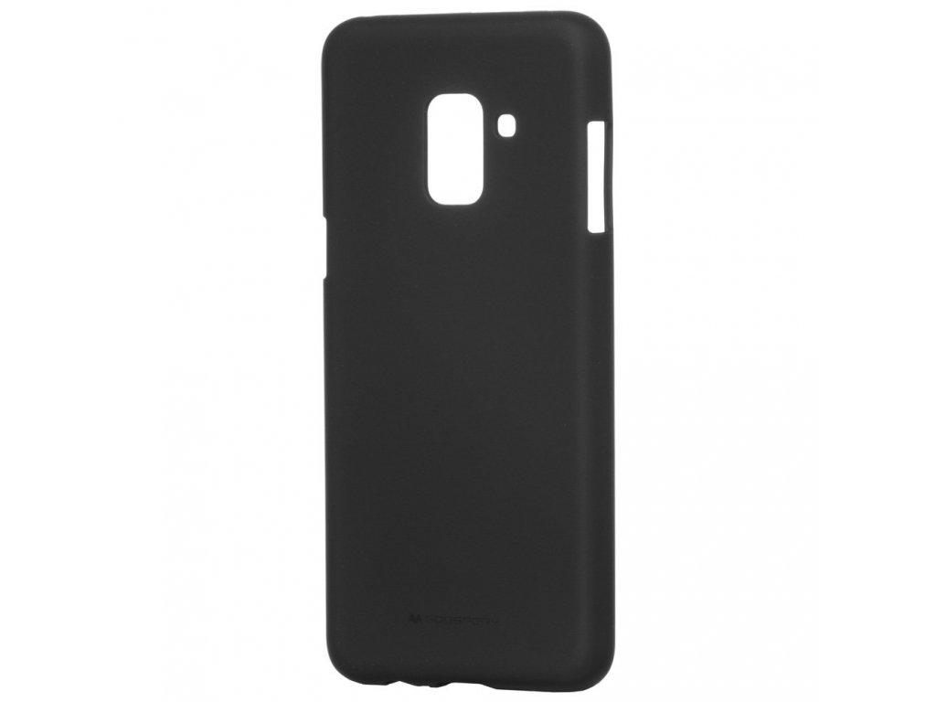 Pouzdro / kryt pro Samsung GALAXY A8 (2018) A530F - Mercury, Soft Feeling Black