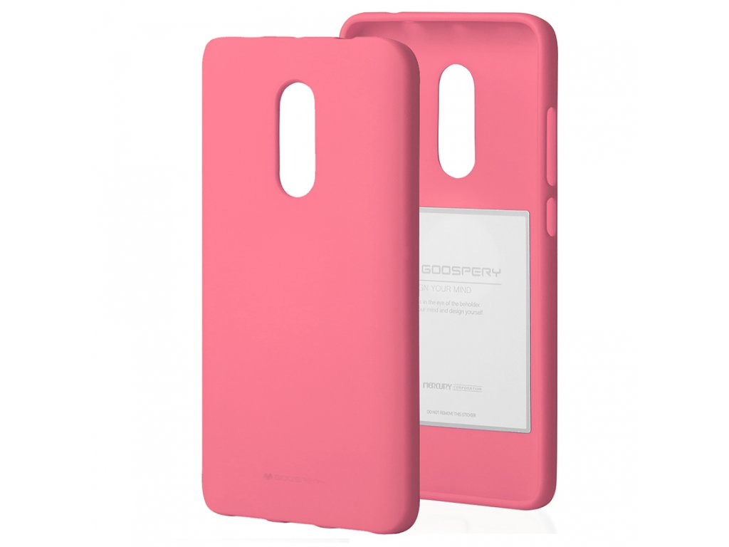 Ochranný kryt pro Xiaomi Redmi 5 PLUS / Note 5 - Mercury, Soft Feeling Pink