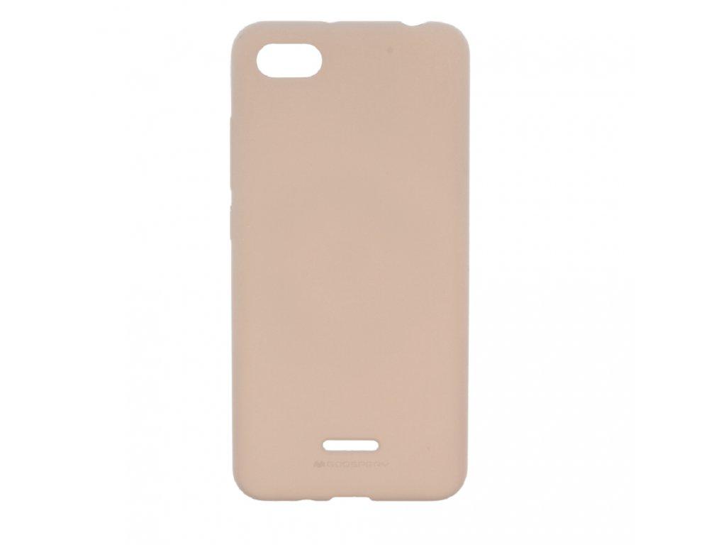 Ochranný kryt pro Xiaomi Redmi 6A - Mercury, Soft Feeling Pink Sand