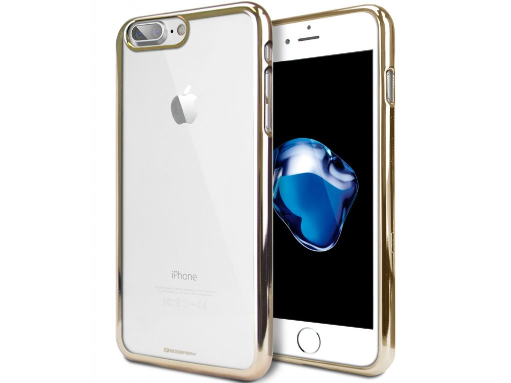 Ochranný kryt pro iPhone 7 PLUS / 8 PLUS - Mercury, Ring2 Gold